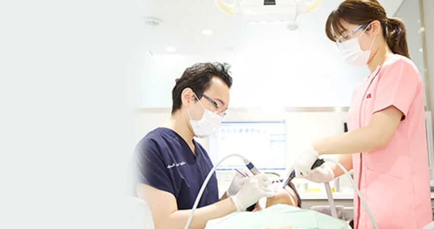 なるべく歯を削らない、歯を残す治療